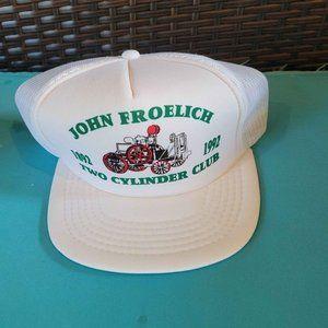 Vintage John Deere Snapback Mesh Trucker Hat John